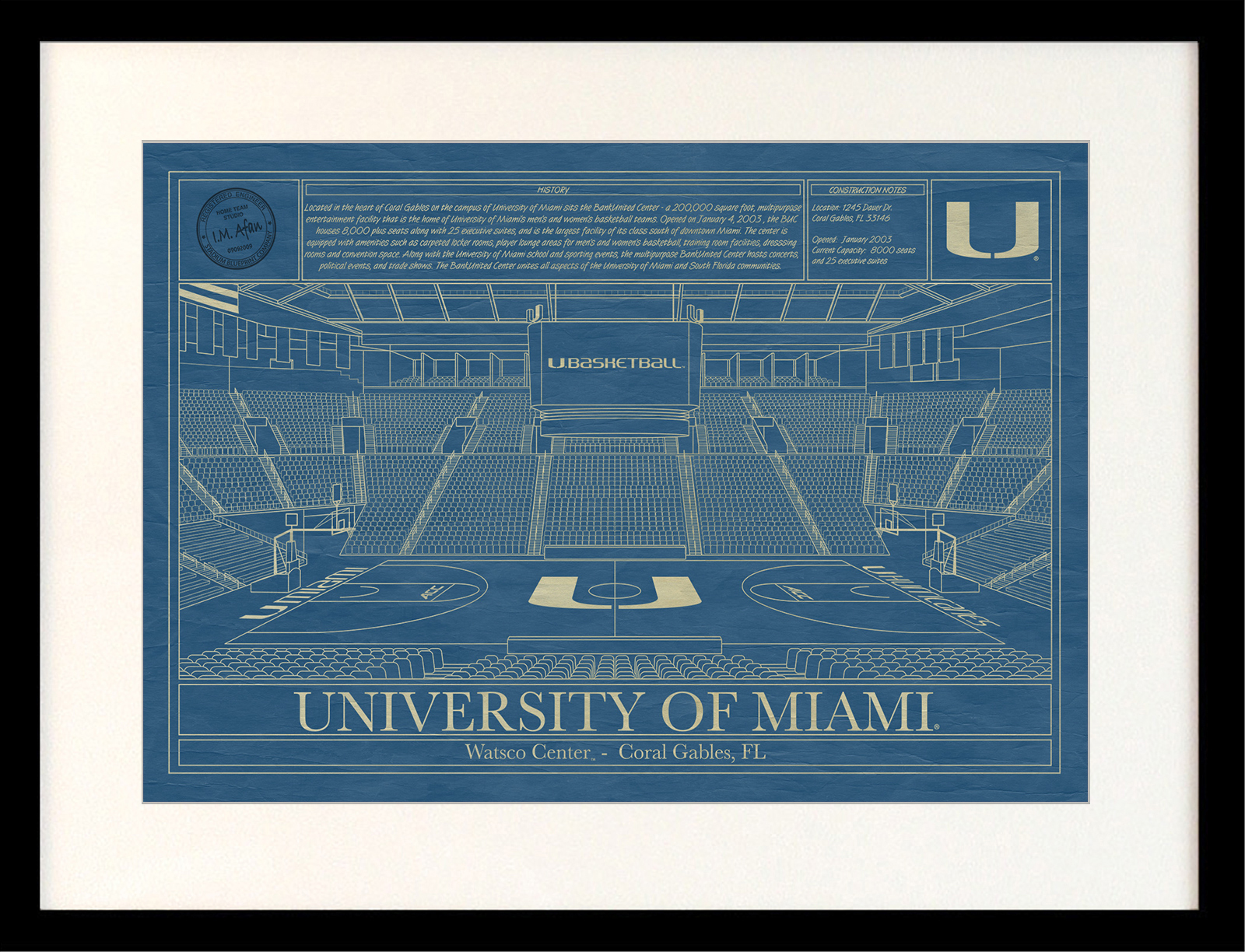 Miami wastco center blueprint art stadium blueprint company click malvernweather Image collections