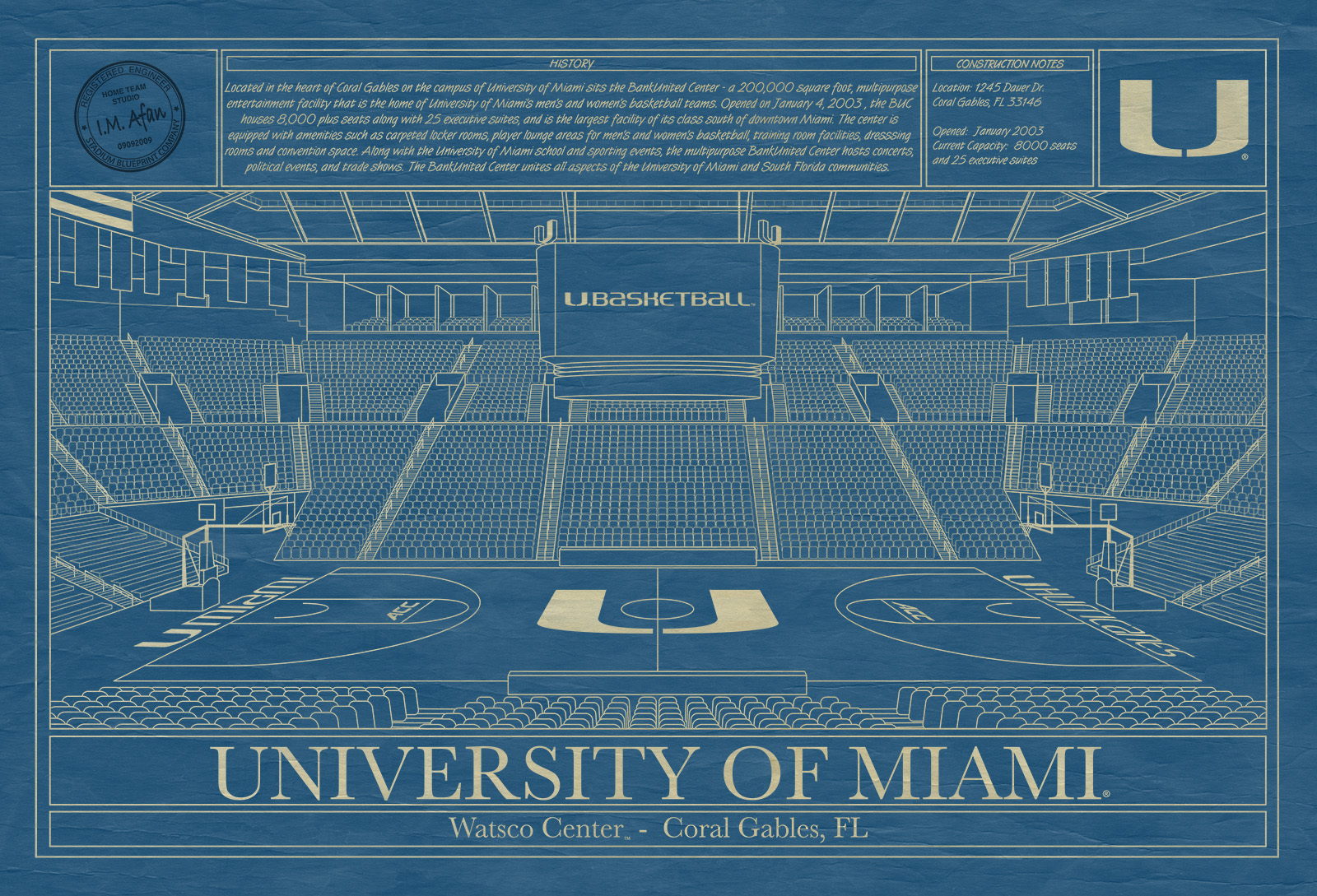 Miami wastco center blueprint art stadium blueprint company click malvernweather