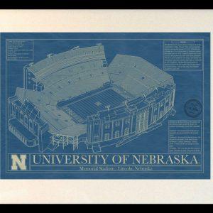 Tennessee neyland stadium blueprint art stadium blueprint company nebraska memorial stadium lincoln blueprint art malvernweather Gallery