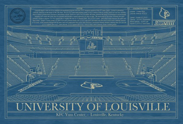 University of Louisville - KFC Yum! Center Blueprint