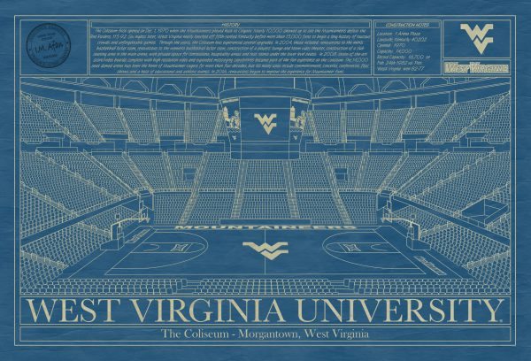 West Virginia University - The Coliseum