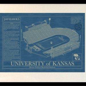Tennessee neyland stadium blueprint art stadium blueprint kansas memorial stadium blueprint art malvernweather Gallery