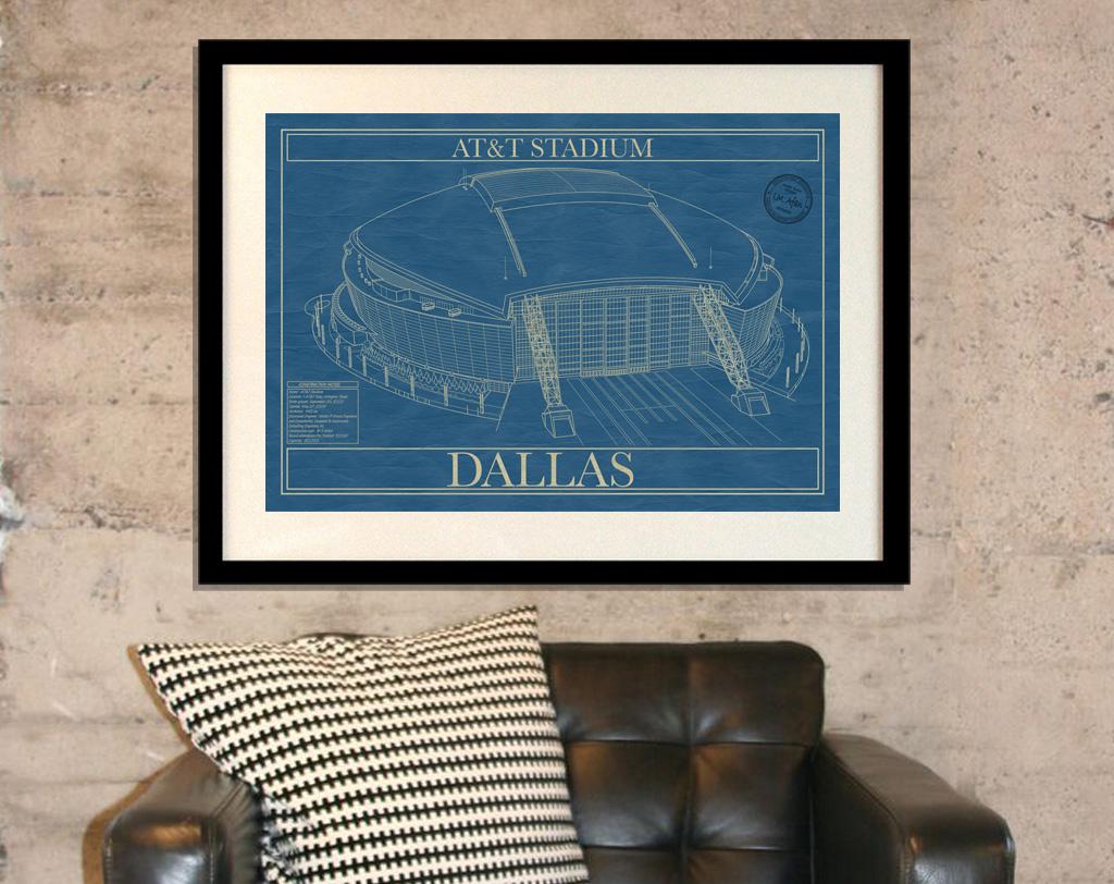Dallas att stadium stadium blueprint company dallas att stadium malvernweather Image collections